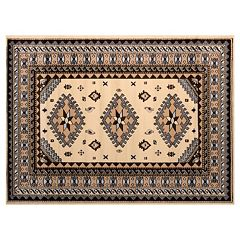 United Weavers Dallas Tres Framed Geometric Rug