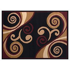 United Weavers Dallas Billow Scroll Rug