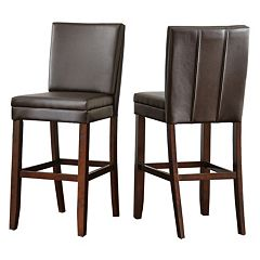 Branton Home Bennett Bar Chair 2-piece Set