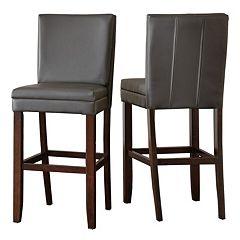 Branton Home Bennett Bar Chair 2 pc Set