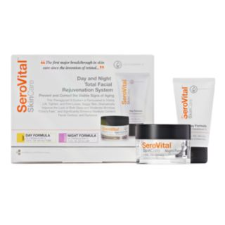 SeroVital Day & Night Total Facial Rejuvenation System Kit