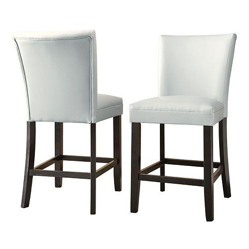 Branton Home Matinee Counter Chair 2-piece Set