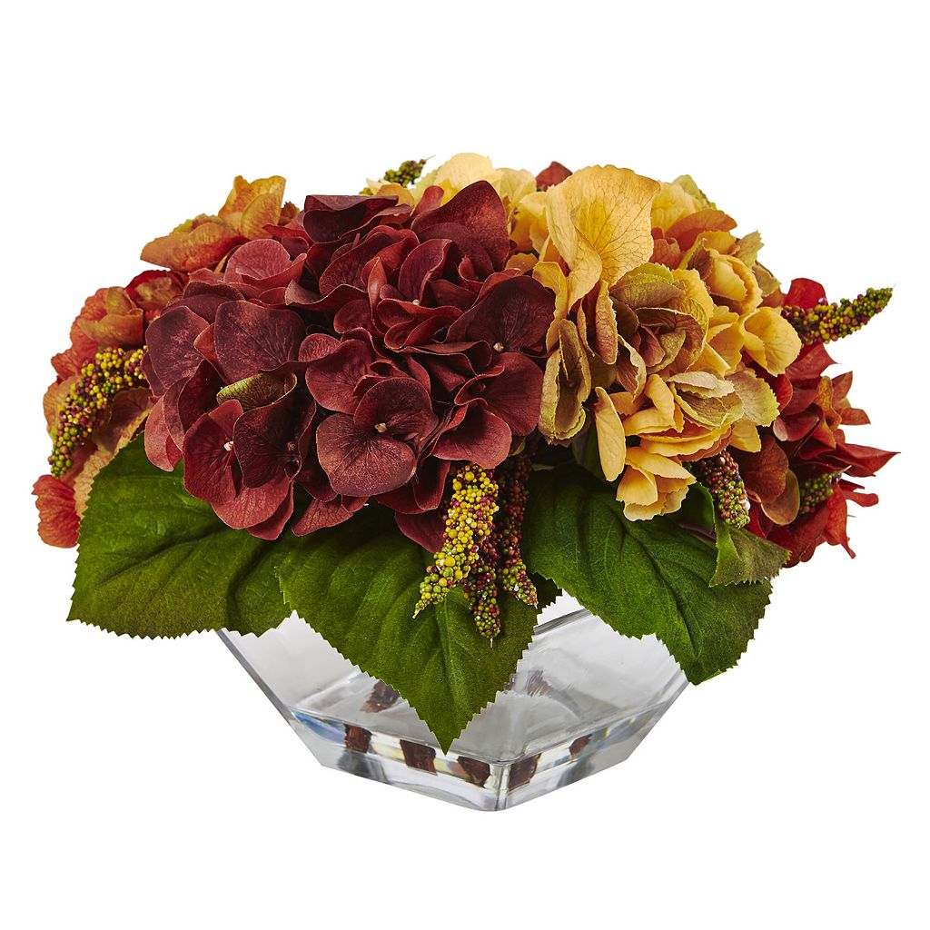 nearly natural Artificial Hydrangea & Berry Arrangement