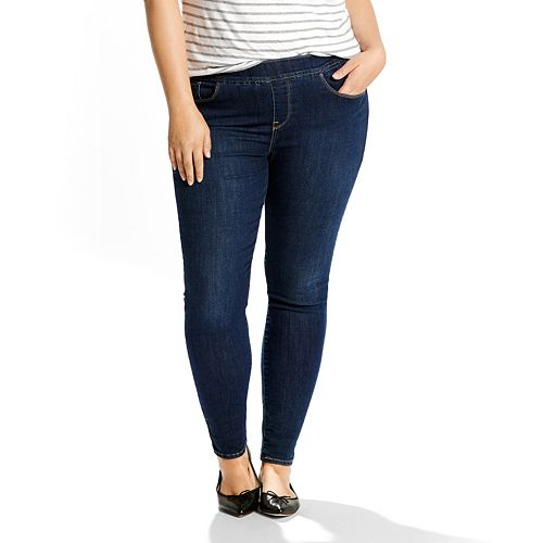 2e6cfc38464a3 Plus Size Levi's Perfectly Shaping Pull-On Leggings