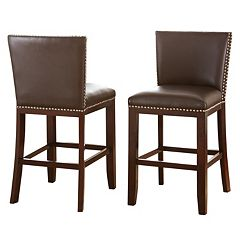 Branton Home Tiffany Counter Chair 2-piece Set