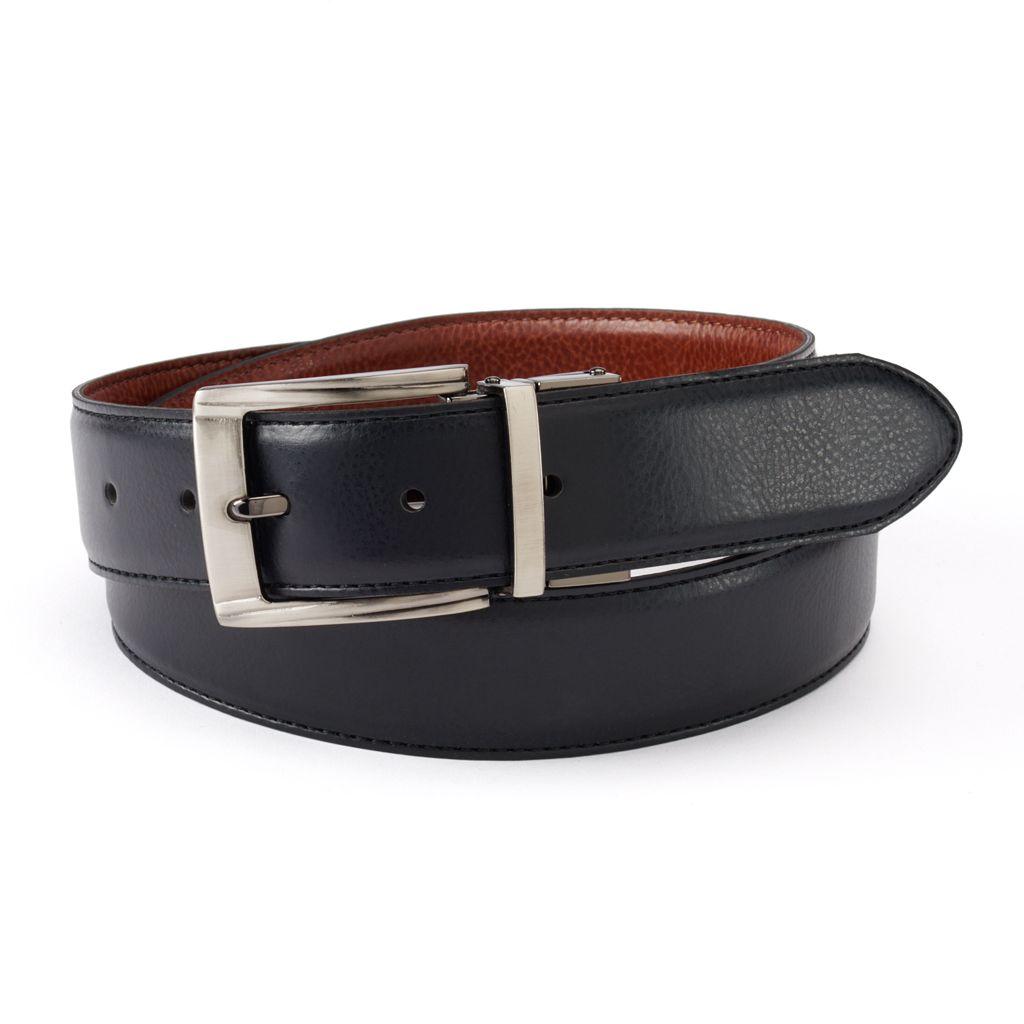 Big & Tall IZOD Pebbled Reversible Leather Belt