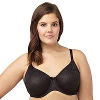 Sculptresse by Panache Bra: Floral Lace Full-Figure T-Shirt Bra 6931