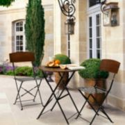 Bombay Outdoors Lucia Bistro Table & Chair 3-piece Set