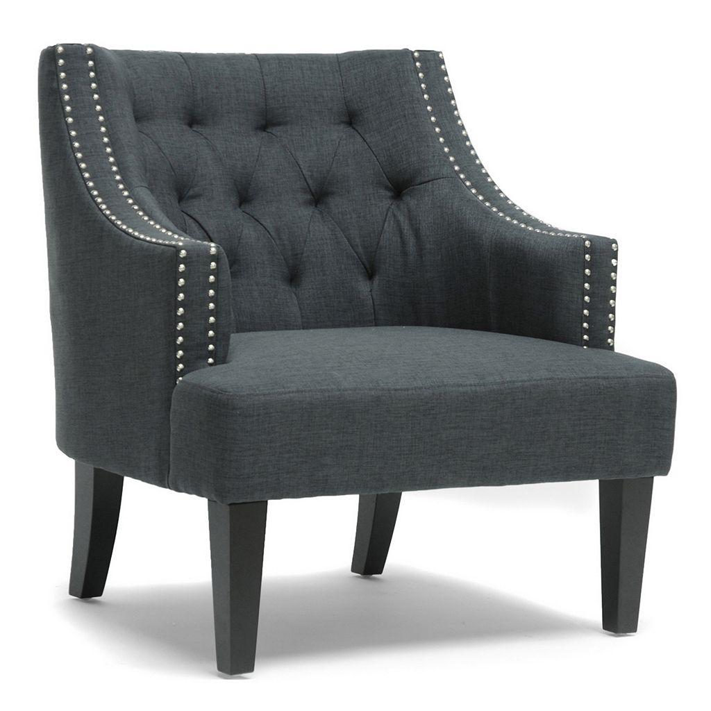 Baxton Studio Millicent Arm Chair