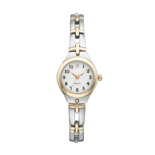 Women's Diamond Two Tone Watch