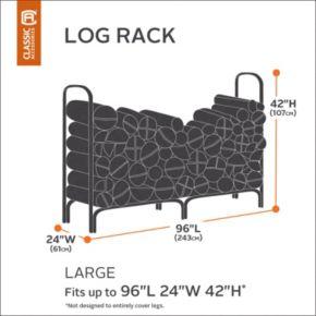 Classic Accessories Veranda Large Log Rack Cover
