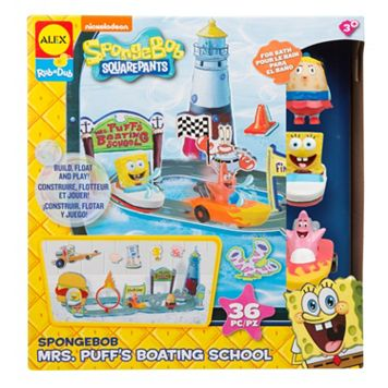 ALEX SpongeBob Mrs. Puff's Boating School Set