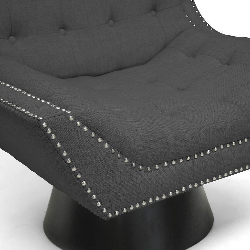 Baxton Studio Tamblin Designer Accent Chair
