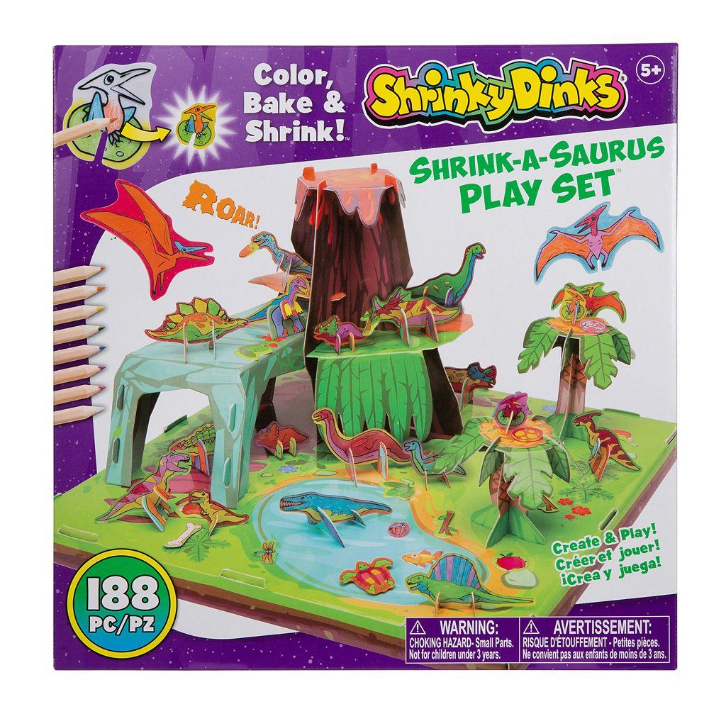Shrinky Dinks Shrink-a-Saurus Playset