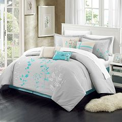 Chic Home Bliss Garden 12 pc Oversized Bed Set