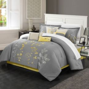 Chic Home Bliss Garden 12-piece Oversized Bed Set