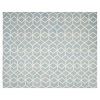 Safavieh Dhurries Diamond Weave Handwoven Flatweave Wool Rug