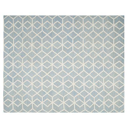 Safavieh Dhurries Diamond Weave Handwoven Flatweave Wool Rug