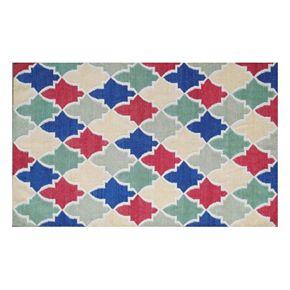 Safavieh Dhurries Colorpatch Handwoven Flatweave Wool Rug