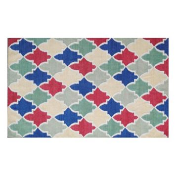 Safavieh Dhurries Colorpatch Handwoven Flatweave Wool Rug