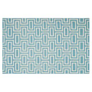 Safavieh Dhurries Brick Weave Handwoven Flatweave Wool Rug