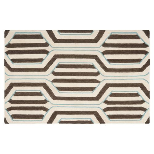 Safavieh Dhurries Hex Weave Handwoven Flatweave Wool Rug
