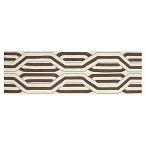 Safavieh Dhurries Hex Weave Handwoven Flatweave Wool Rug