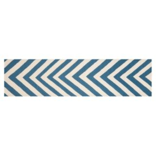 Safavieh Dhurries Chevron Handwoven Flatweave Wool Rug