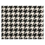 Safavieh Dhurries Houndstooth Handwoven Flatweave Wool Rug