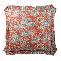 Waverly Sanctuary Rose Euro Sham