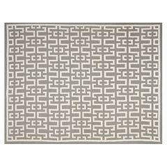 Safavieh Dhurries Greek Key Handwoven Flatweave Wool Rug