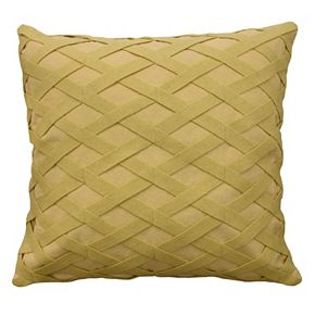 Waverly Sanctuary Rose Square Throw Pillow