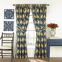 Waverly Sanctuary Rose Window Curtain Set - 50'' x 84''