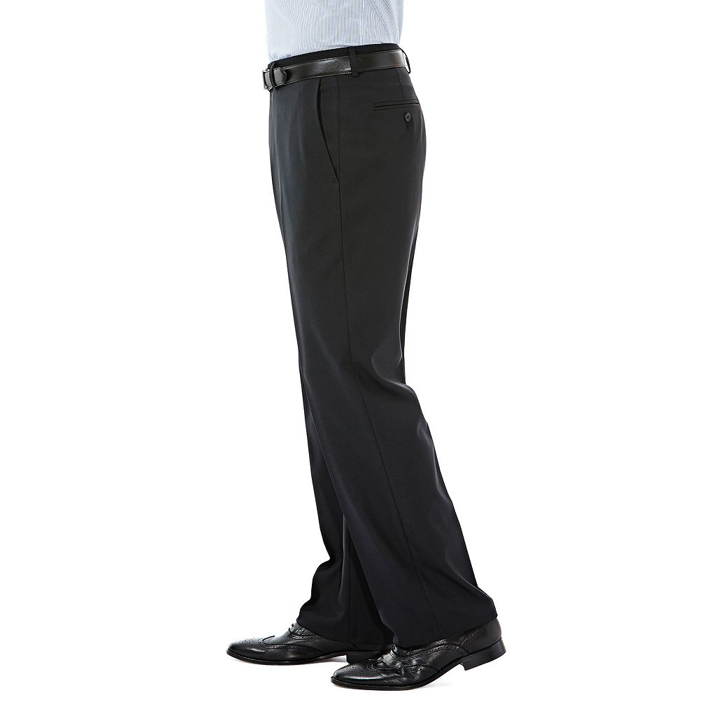 Men's Haggar Expandomatic Stretch Classic-Fit Dress Pants