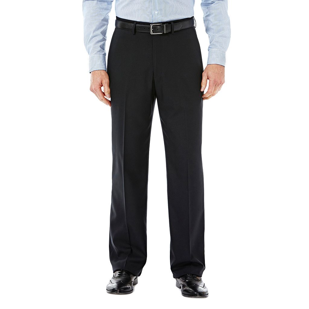 Men's Haggar Expandomatic Stretch Classic-Fit Comfort Compression Waist Pants