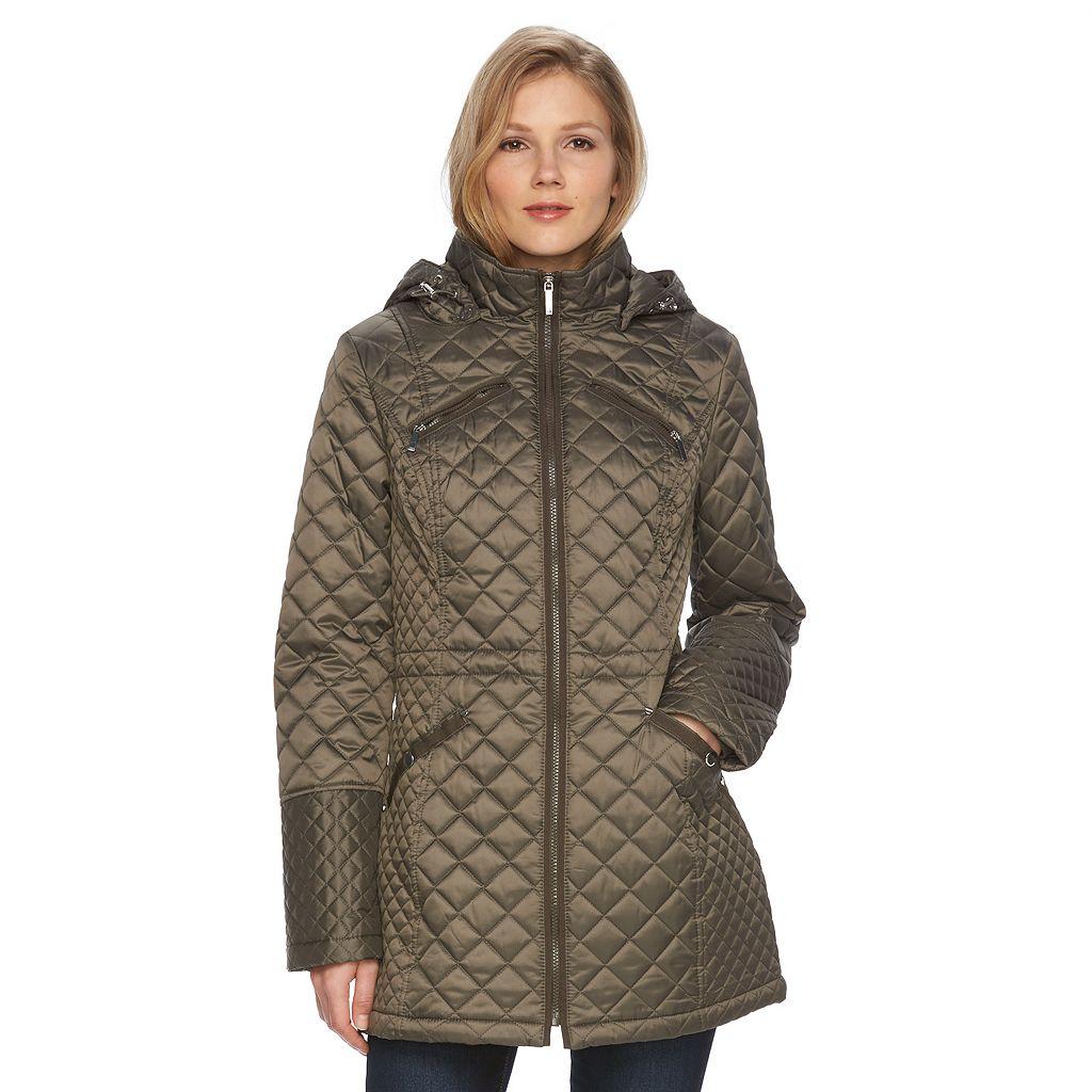 Women's Braetan Hooded Long Quilted Jacket