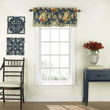 Waverly Sanctuary Rose Window Valance - 52'' x 16''