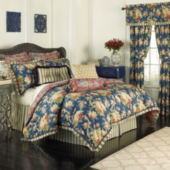 Waverly Sanctuary Rose 4-piece Bed Set