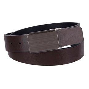 Men's Apt. 9® Reversible Plaque-Buckle Belt