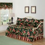 Waverly Charleston Chirp 5-piece Reversible Daybed Quilt Set