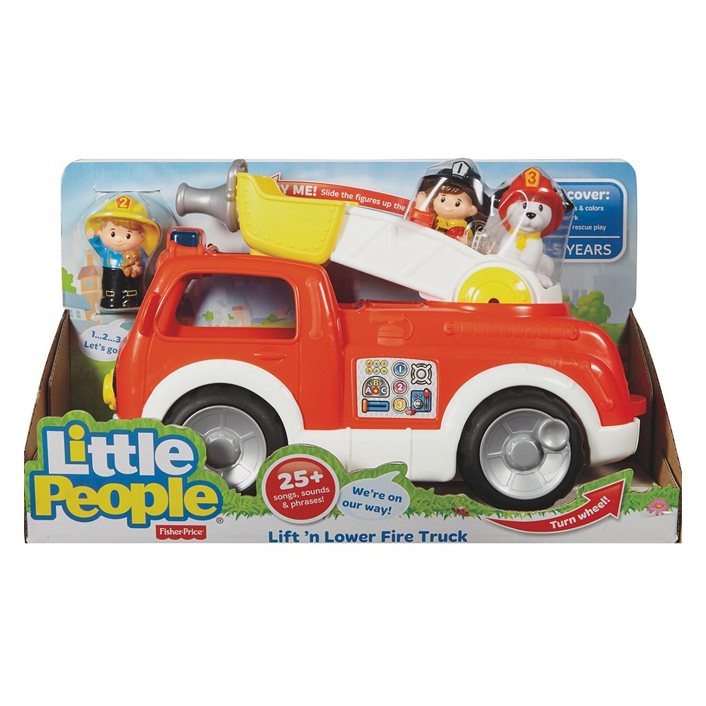 Fisher-Price Little People Lift & Lower Fire Truck
