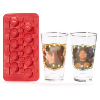 ICUP National Lampoon's Christmas Vacation 3-piece Pint Glass & Ice Cube Tray Set