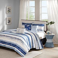 Madison Park Anchorage 6 pc Quilted Coverlet Set