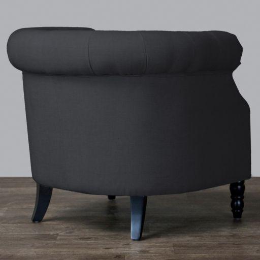 Baxton Studio Chesterfield Chair