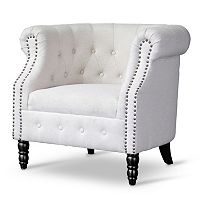 Baxton Studio Chesterfield Chair