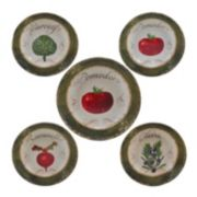 Certified International Pomodoro 5-pc. Pasta Serving Bowl Set