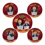 Certified International Waiters 5 pc Pasta Serving Bowl Set