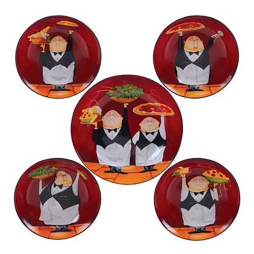 Certified International Waiters 5-pc. Pasta Serving Bowl Set