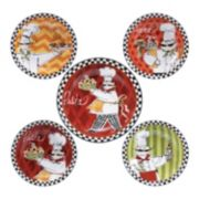 Certified International Chef's On The Go 5-pc. Pasta Serving Bowl Set