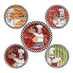 Certified International Chef's On The Go 5 pc Pasta Serving Bowl Set